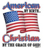 S1829 - American By Birth, Christian by the Grace of God