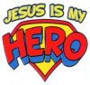 X5096KID-Jesus Is My Hero