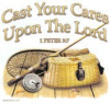 B3508-Cast Your Cares Upon The Lord (Basket)