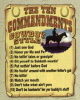 G17383-Cowboy 10 Commandments