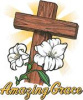 S1177-Amazing Grace with Cross